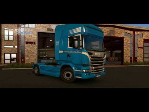 Tabaknatie skins for Scania and Volvo