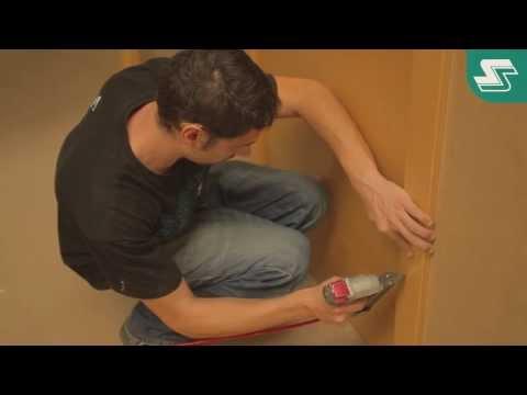 Cómo montar una Puerta, montaje de una puerta en bloque o block, instalación de una Puerta interior.