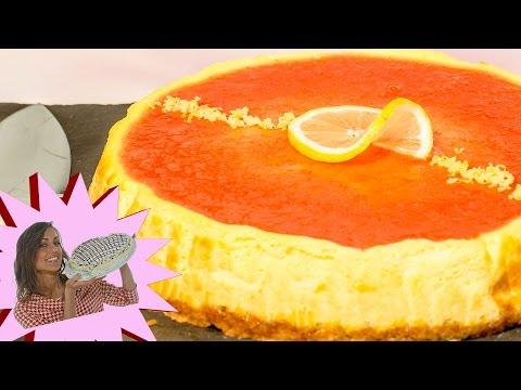 cheesecake al limone in forno - ricetta