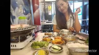 Korean Food Samgyeopsal 😊 Worth it!