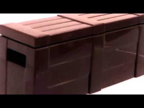 Video YouTube video ad for the Brick Arms 2 5 Scale Crate With Lid
