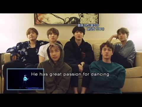 "BTS React To JHOPE "" Boy Meets Evil"""