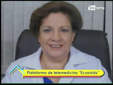 Plataforma de telemedicina Ecuavida