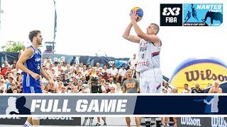 Watch the full game between Serbia and France from the FIBA 3x3 World Cup 2017. Subscribe to the FIBA3x3 channel: http://bit.do/SubscribeFIBA3x3 More on: ...
