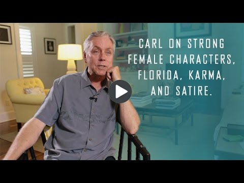 "Carl Hiaasen on writing and ""Razor Girl"""
