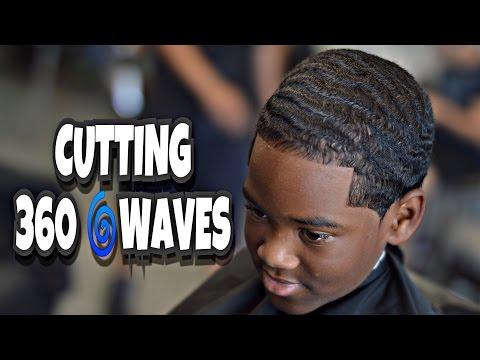 HOW TO | CUT 360 WAVES | CRISPY LINE UP