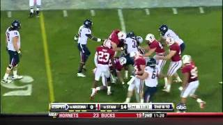 Shayne Skov vs USC, Arizona, Oregon (2010)