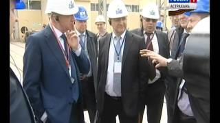 Интервью с Элиной Полянской об итогах Международного Каспийского технологического форума ГТРК Лотос