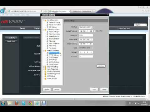 CCTV, Hikvision, DVR, Configuración Visualización Remota