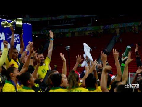 � hora de festejar! Brasil � campe�o do Torneio Internacional de Bras�lia
