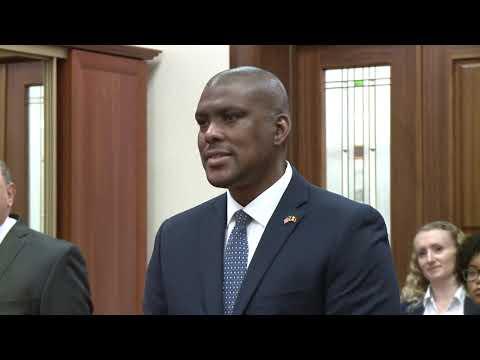 Președintele Igor Dodon a primit scrisorile de acreditare de la noul ambasador al SUA