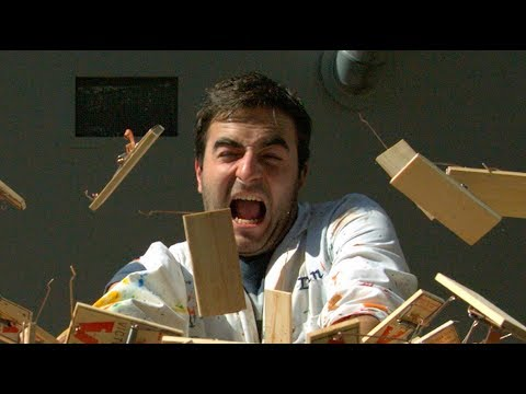 motion - Gav sets up a chain of 150 mousetraps. Dan sets them off bravely. Follow Gav on Twitter - https://twitter.com/GavinFree Follow Dan on Twitter - https://twitt...