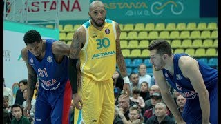 Hightlits of the match VTB United league: «Astana» — CSKA
