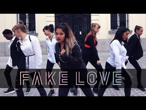 BTS (방탄소년단) 'FAKE LOVE' - Dance Cover By Move Nation From Belgium 2018