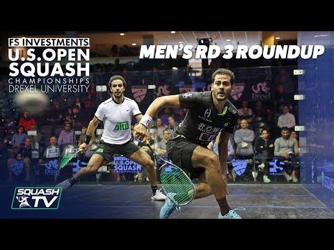 Squash: Men's Rd 3 Roundup - US Open 2018