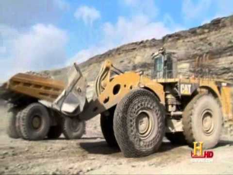 Oxford Mining's CATERPILLAR 994F (Modern Marvels)