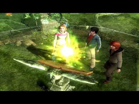 Harry Potter and the Goblet of Fire Full Movie Based Video Game 2/3 (видео)