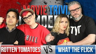 Movie Trivia Team Schmoedown - Rotten Tomatoes Vs. What The Flick by Collider