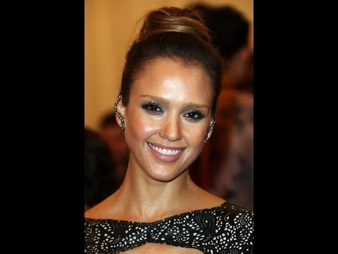 Get the look:Jessica Alba at 2013 MET