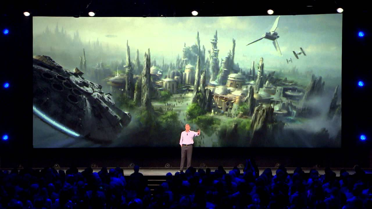 Star Wars Land announcement by Bob Iger