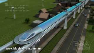 Video Magnetic levitation twin pipe transport system - advanced maglev train technology MP3, 3GP, MP4, WEBM, AVI, FLV Agustus 2019