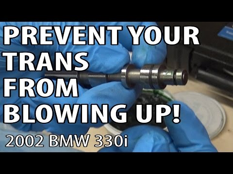 BMW E46 ZF 5HP19 Auto Transmission Pressure Regulator Fix