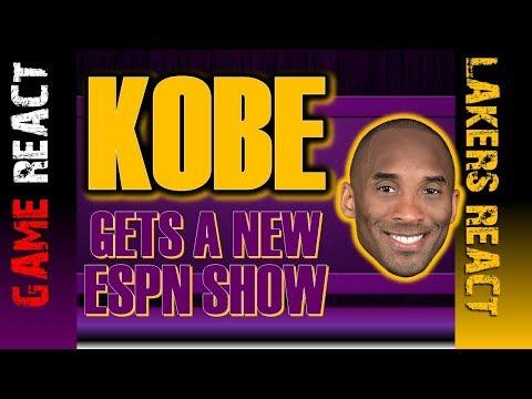 LA Lakers Video | Kobe Bryant hosts New Show on ESPN | Fan Reaction | News | NBA Basketball