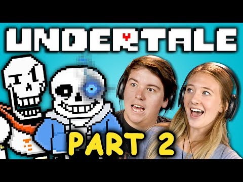 SNOW WAY OUT! | UNDERTALE - Part 2 (React: Let's Plays)