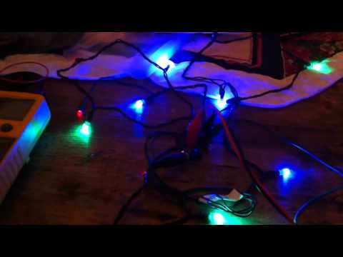 ATtiny13 controlled LED Christmas lights Dangerous Prototypes