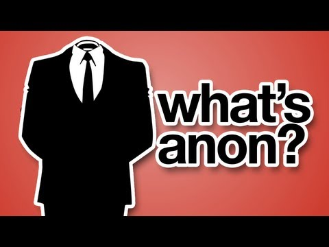 What Is Anonymous?
