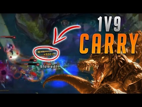 CAN RENEKTON 1v9 CARRY IN SEASON 7?!? - Road To Challenger #21 (League Of Legends)