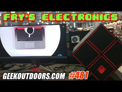 FRY'S ELECTRONICS ADVENTURE!!! Geekoutdoors.com EP481