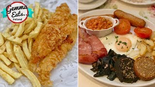 Gemma Eats...Ireland 2 | BEST IRISH FOOD Tour, FULL Irish Breakfast, BEST Fish & Chips by Gemma's Bigger Bolder Baking