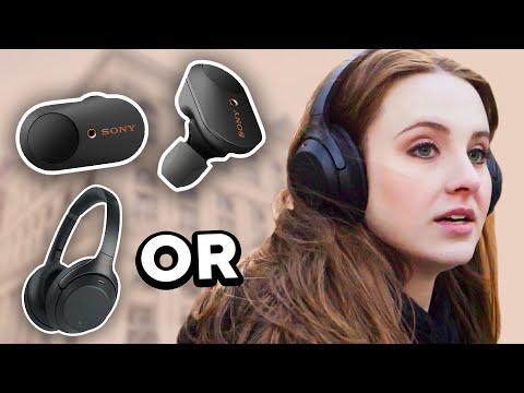 Sony WF-1000XM3 & WH Noise Canceling Headphones | Tutorial & Comparison