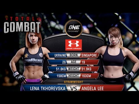 Total Combat | Lena Tkhorevska vs Angela Lee | Full Fight Replay