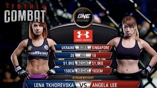 Video Total Combat   Lena Tkhorevska vs Angela Lee MP3, 3GP, MP4, WEBM, AVI, FLV November 2018