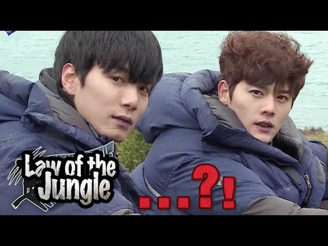 Hunting became Photoshoot (ft. Nuest W JR, ZEA Dongjun) [Law of the Jungle Ep 304] (видео)