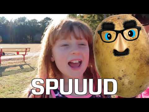 Playing SPUD In Real Life! NOOB Family