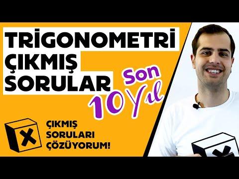 Trigonometri | Son 10 Yılın Çıkmış Trigonometri Soruları ve Çözümleri | LYS 2010 - AYT 2019