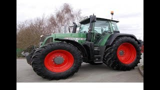Обзор трактора Fendt 718. Overview tractor Fendt 718.