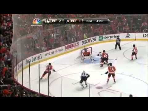 Pittsburgh Penguins at Philladelphia Flyers HD 1.19.2013