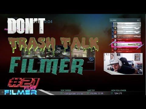 Don't Trash Talk Filmer #21