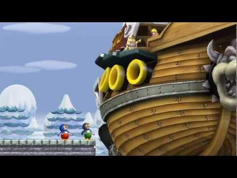 New Super Mario Bros Wii - 100% Walkthrough Co-op ITA - Parte 06 di 19