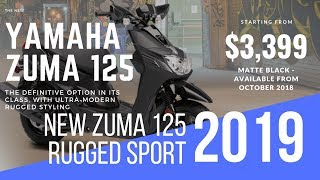6. New 2019 Yamaha ZUMA 125 Rugged Sport