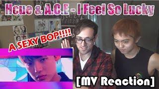 [MV Reaction] Hcue feat. A.C.E - I Feel So Lucky