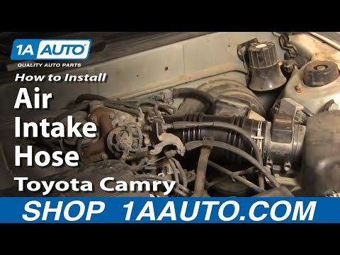 How To Install Replace Air Intake Hose Toyota Camry Lexus ES300 3.0L V6 92-96 1AAuto.com