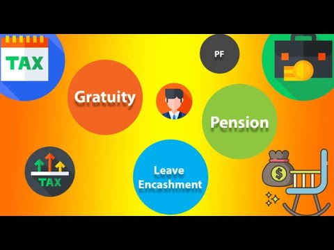 Salary Head : Retirement Benefits - Income Tax - Quick Revision