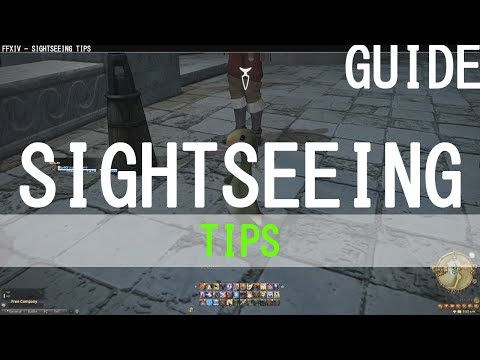 Final Fantasy XIV: A Realm Reborn ♠ Sightseeing Tips