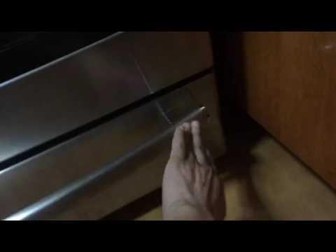 GE warming drawer