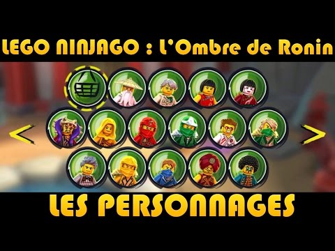 36 27 lego ninjago les personnages characters on - Personnage ninjago lego ...